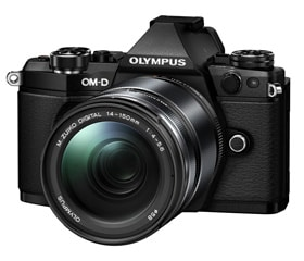 「OM-D E-M5 Mark II」ボディー(ブラック)+「M.ZUIKO DIGITAL ED 14-150mm F4.0-5.6 II」