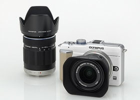 「OLYMPUS PEN Lite E-PL1」+「M.ZUIKO DIGITAL ED 9-18mm F4.0-5.6」および、「M.ZUIKO DIGITAL ED 14-150mm F4.0-5.6」