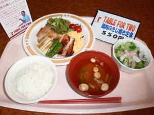 学校食堂制度_オリンパス ニュースリリース: 社員食堂で「TABLE FOR TWO」寄付 ...